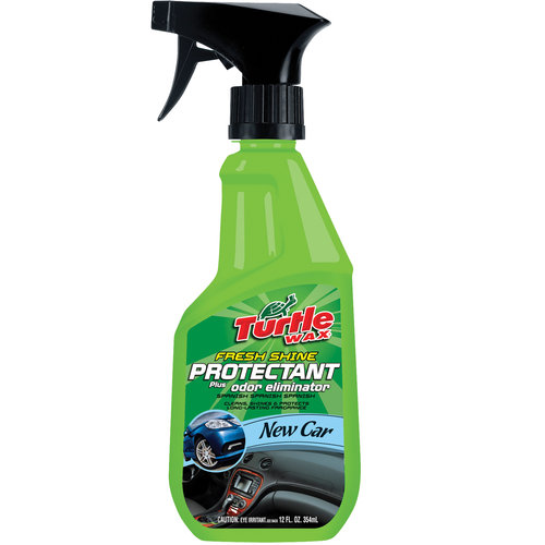 Turtle Wax Fresh Shine Protectant, New Car, 12oz