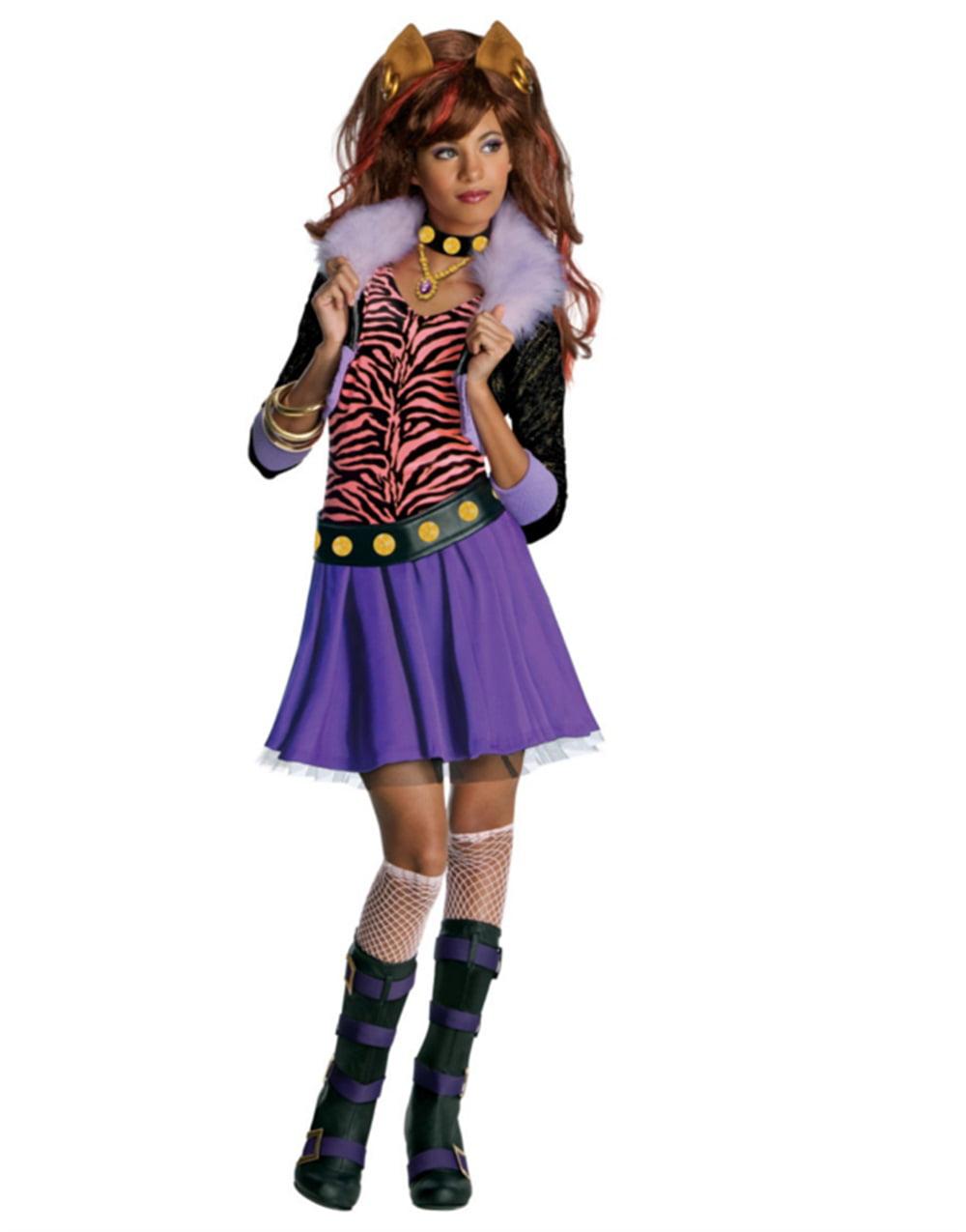 monster high clawdeen wolf child halloween costume - walmart