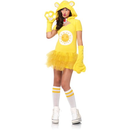 Leg Avenue Care Bears Junior Funshine Bear Teen Halloween - Carebear Costume