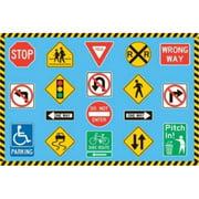 Fun Rugs Fun Time Traffic Signs Kids Rug