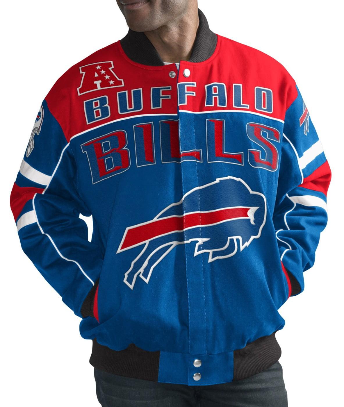 "Buffalo Bills Men's NFL G-III ""Blitz"" Premium Cotton Twill Jacket by G-III Sports"