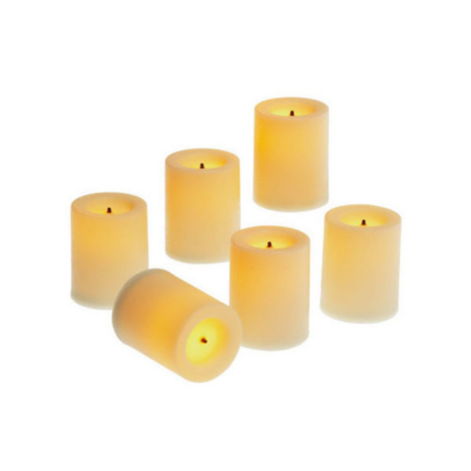 Candle Impressions 1.75 in. Wax Votive Candle - Set of 6
