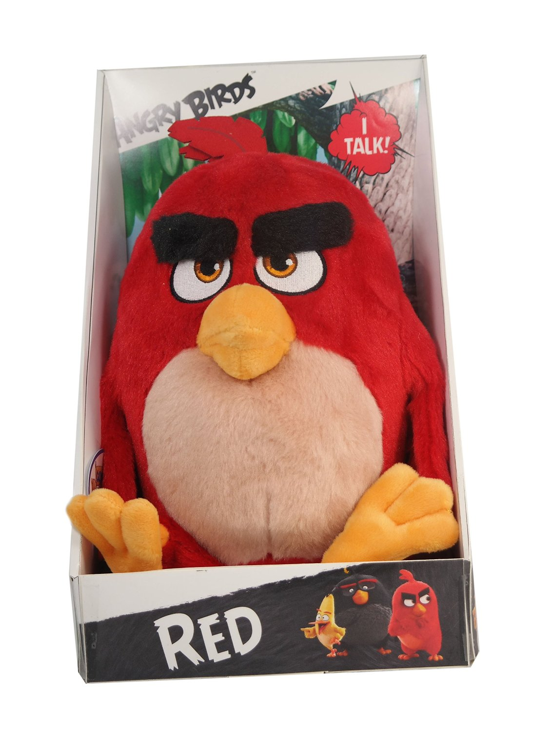 Angry Birds Movie 11 Talking Feature Plush Red Walmart Com