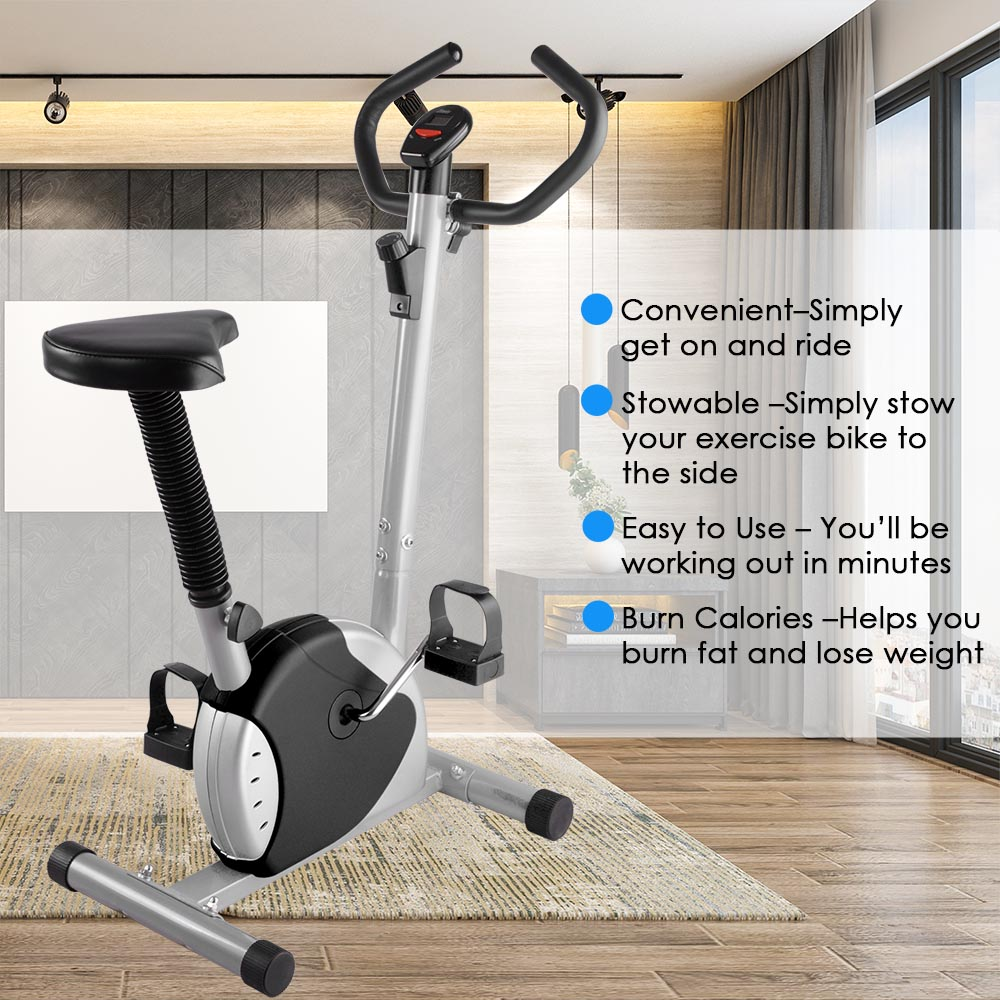 Exercise bike fitness cycling machine home personal gym cardio