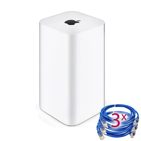Airport Extreme (6th Gen) + 3 Ethernet Cables