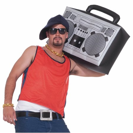Inflatable Boom Box 1980s F64019 - Inflatable Boombox