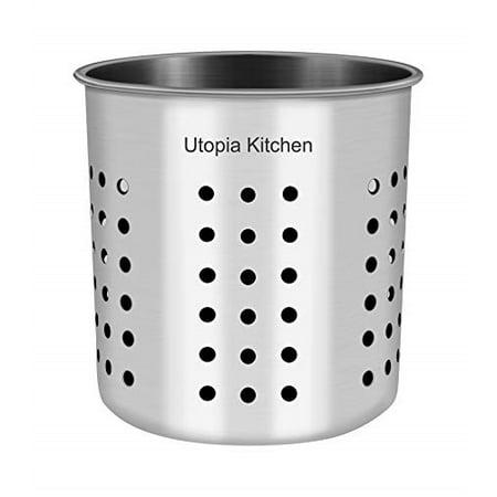Utopia Kitchen Utensil Holder - Utensil Container 5\