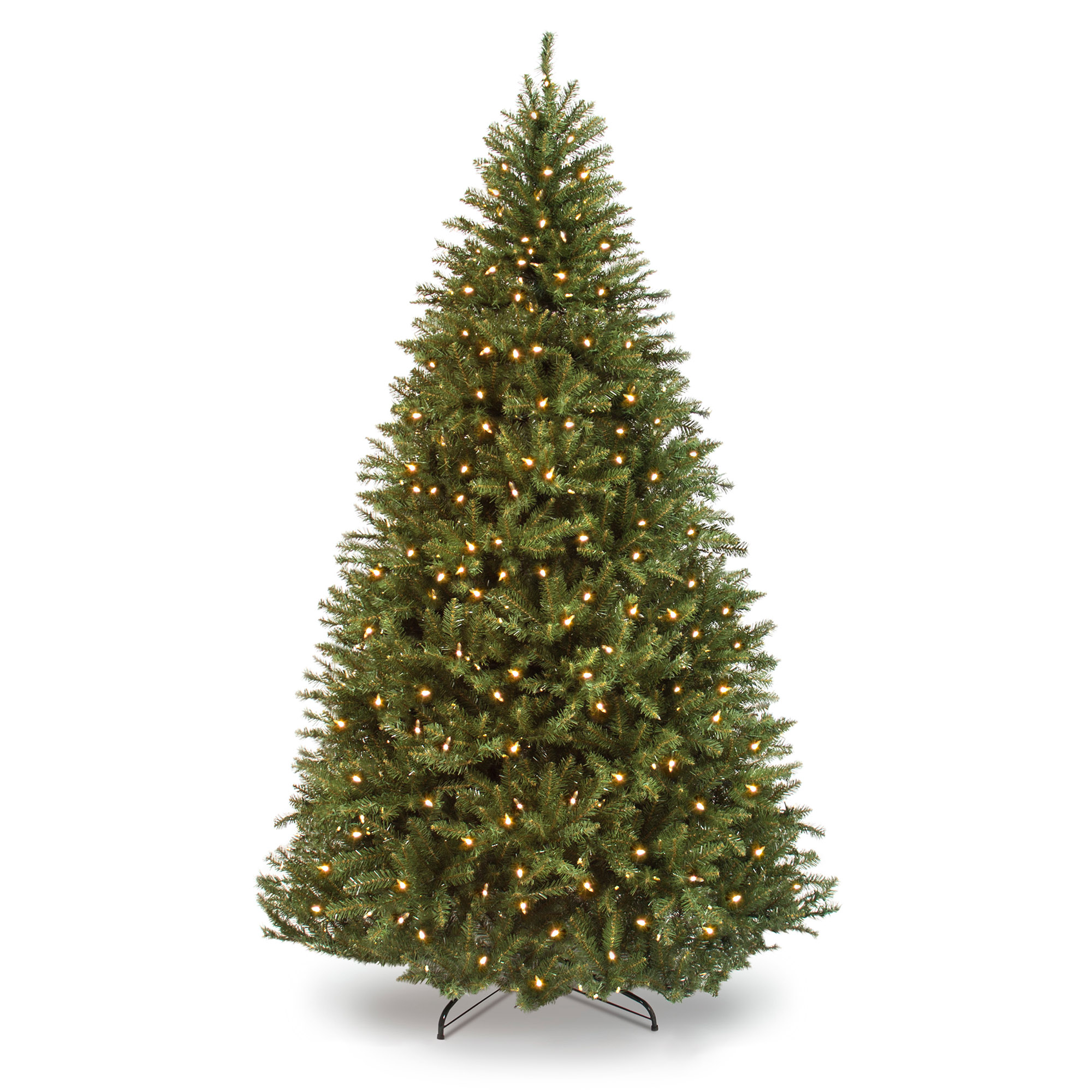 Best Choice Products 9ft Premium Pre-Lit Hinged Douglas Full Fir Artificial Christmas Tree Holiday Decoration w/ 3594 Branch Tips, 1000 Warm White Lights, Easy Assembly, Foldable Metal Stand - Green