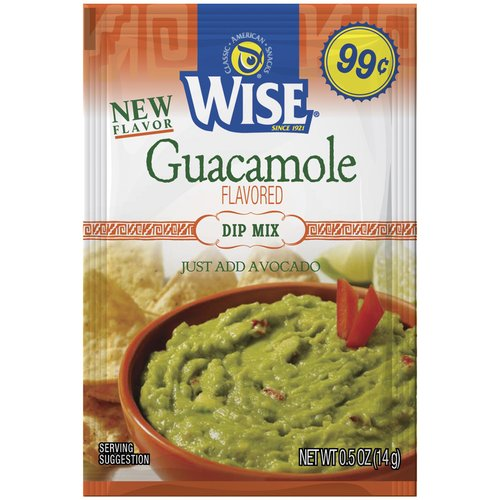 Wise Snacks Guacamole Dry Dip Mix 0.5oz