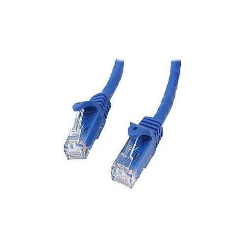 StarTech.com Gigabit Snagless RJ45 UTP Cat6 Patch Cable Cord - Patch cable - RJ-45 (M) - RJ-45 (M) - 15 ft - CAT 6 - sna