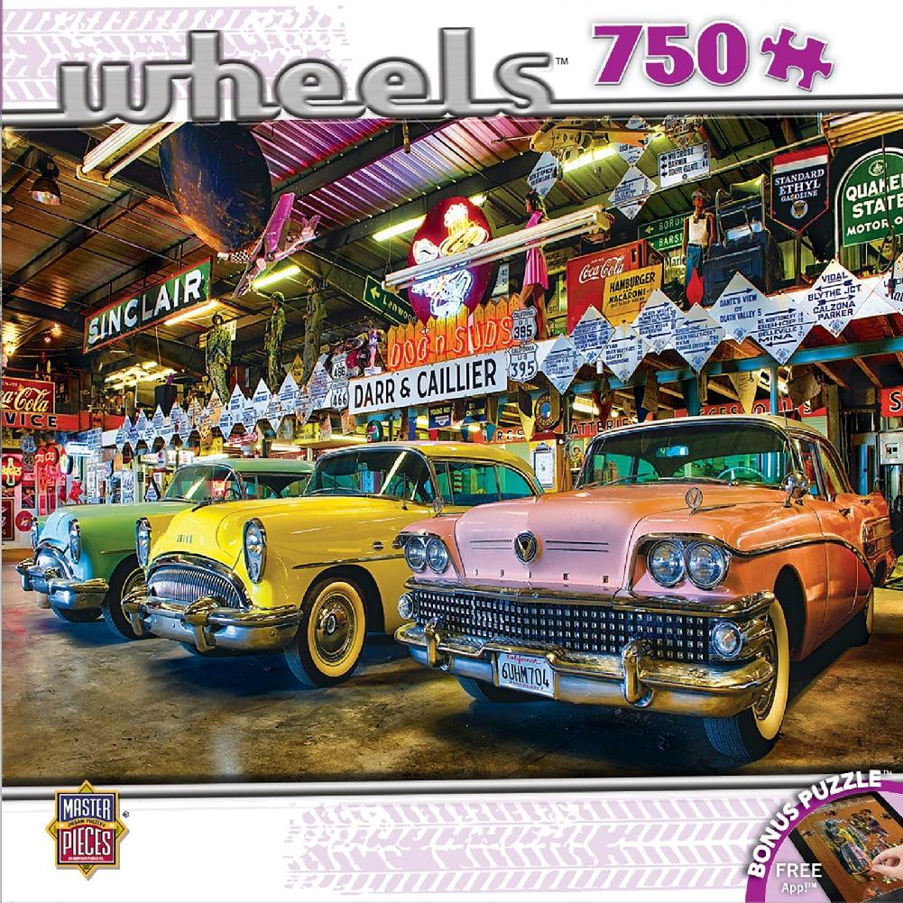 Wheels - Three Beauties 750 Piece Puzzle