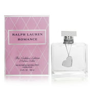 Romance by Ralph Lauren for Women The Necklace Edition - 3.4 oz Eau de Parfum Spray + Necklace