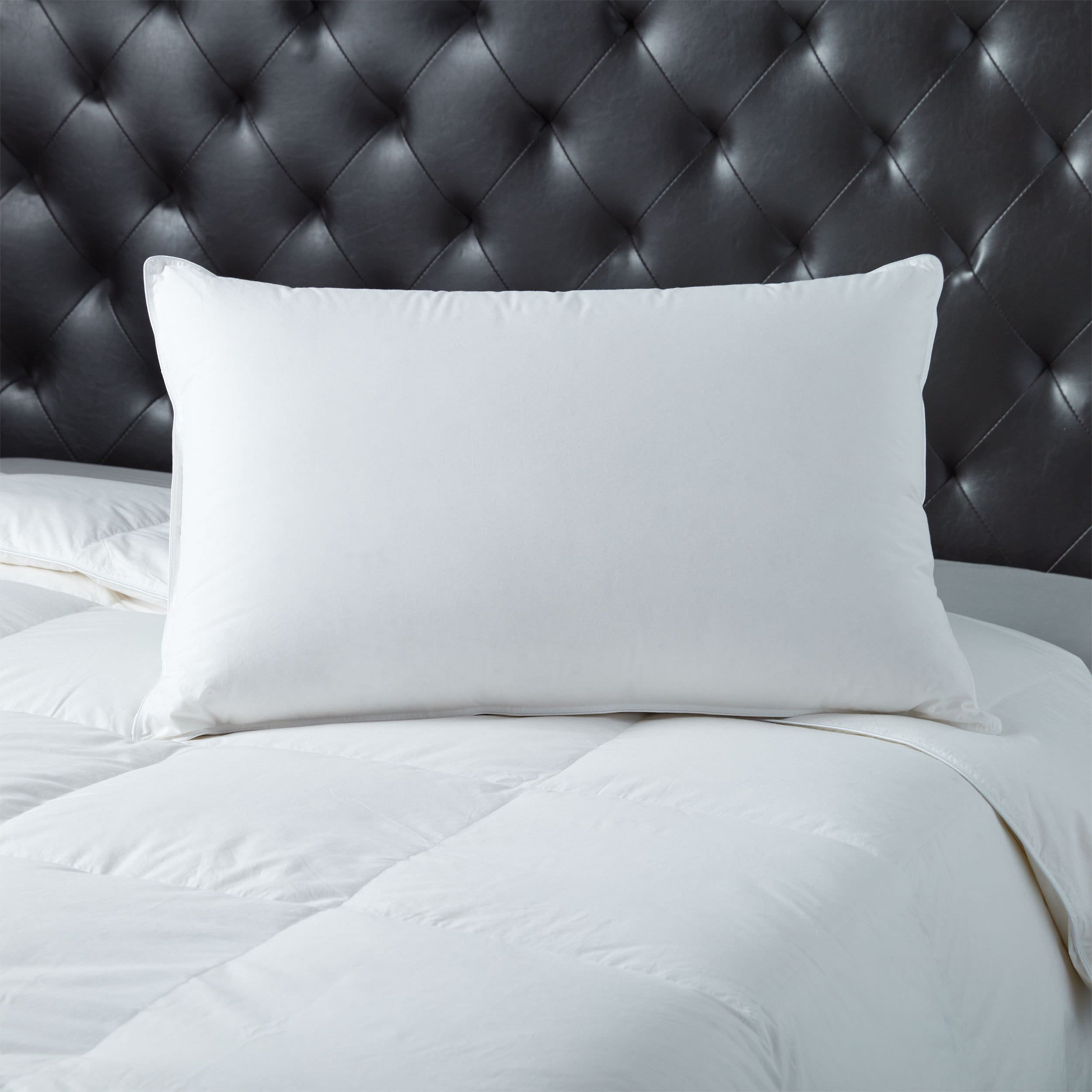 European Heritage  Cologne Firm Hypoallergenic Tencel Hungarian White Goose Down Pillow