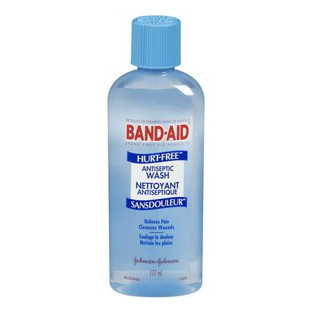 BAND-AID Hurt-Free Antiseptic Wash 6