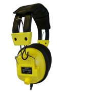 Avid Technology AE-808 Over-Ear Headphones with Volume Control AE-808YELLOW