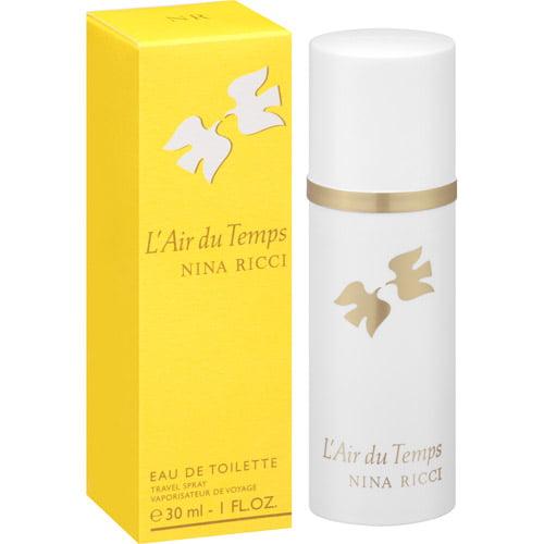 Nina Ricci L'Air du Temps Eau de Toilette Travel Spray, 1 fl oz