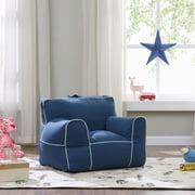 Pleasant Mainstays Microfiber Large Bean Bag Chair Multiple Colors Alphanode Cool Chair Designs And Ideas Alphanodeonline