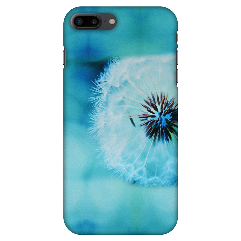 iPhone 7 Plus Case - Dandelion Close By, Hard Plastic Back Cover. Slim Profile Cute Printed Designer Snap on Case with Screen Cleaning Kit