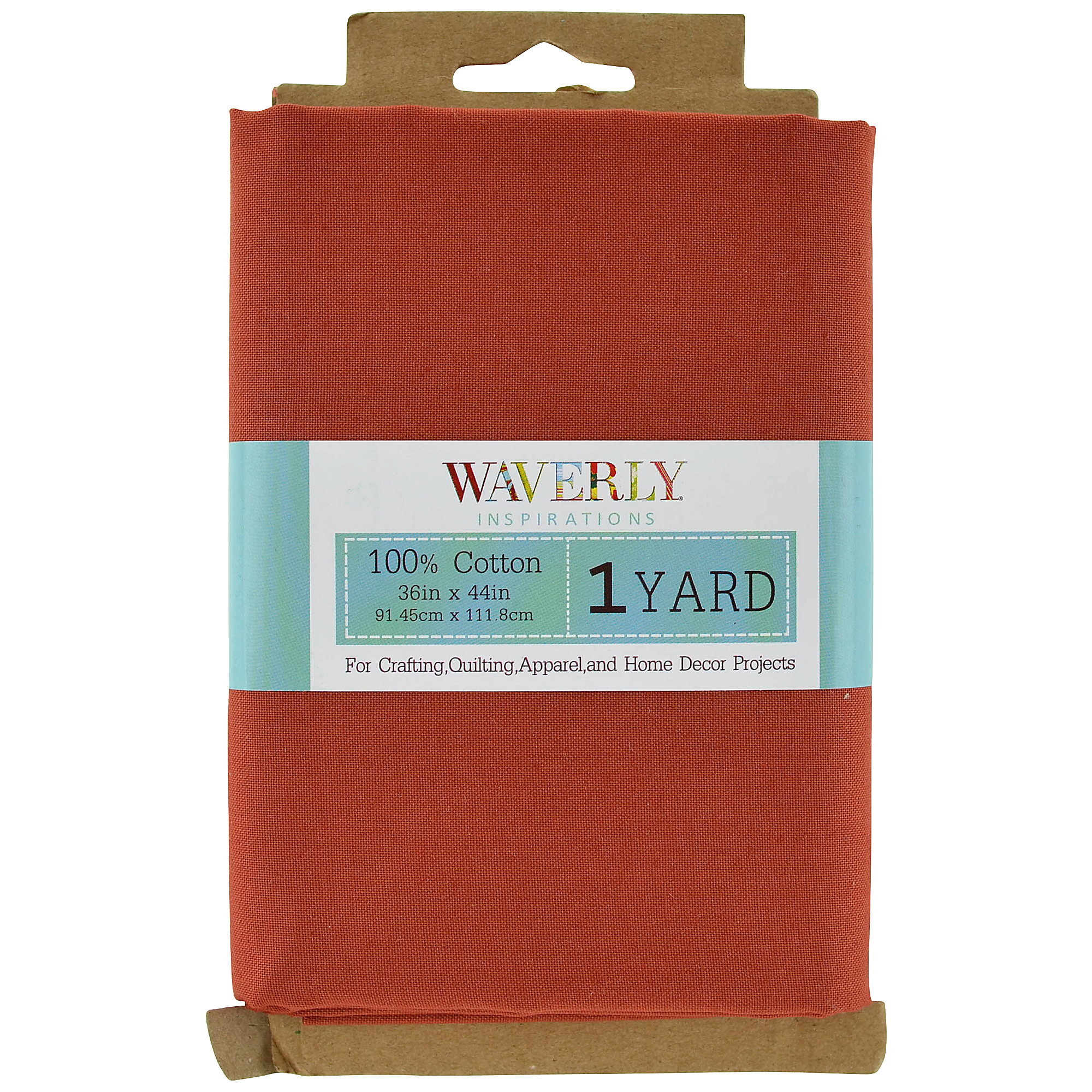 Waverly Inspirations Cotton Solid Spice Fabric, 1 Yd.