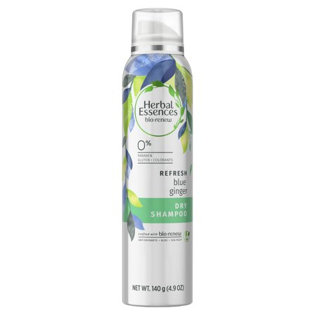 - Herbal Essences Bio:Renew Blue Ginger Refresh Dry Shampoo 4.9 oz