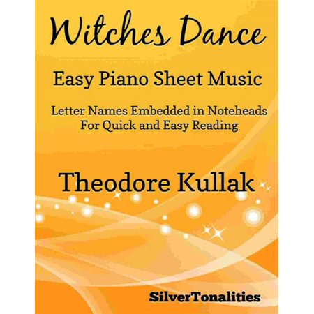 Witches Dance Opus 4 Number 2 Easy Piano Sheet Music - eBook