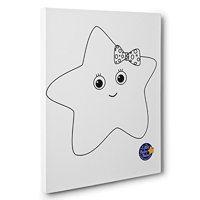 Little Baby Bum Twinkle The Star Kids Room Coloring Canvas Decor
