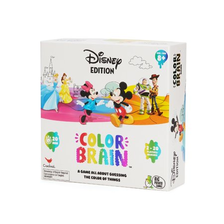 Disney Colorbrain, The Ultimate Board Game for Families who love Disney ()