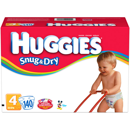 Kimberly-clark HUGGIES - Snug N Dry Diapers Size 6