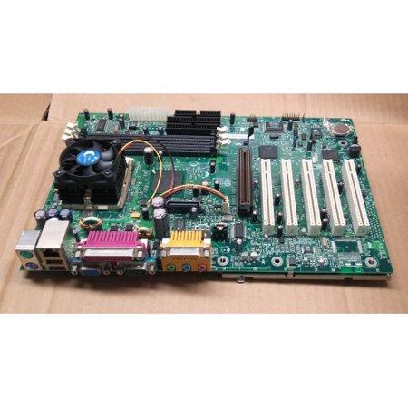 refurbished-intel d815eeal intel 815 chipset, intel pentium iii, or celeron fc-pga , ppga processors. 133/100/ 66 mhz fsb. 3 x dimm sockets support up to 512mb pc133 sdram, 5 x pci, 1 x agp (4x), 1
