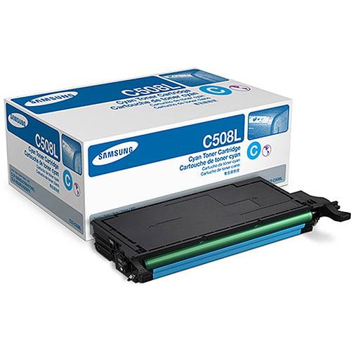 Samsung CLT-C508L Cyan Laser Toner Cartridge