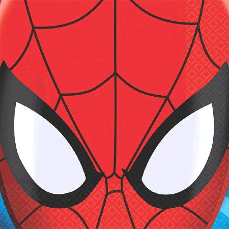 Spiderman Beverage Napkins (16 Pack) - Party Supplies