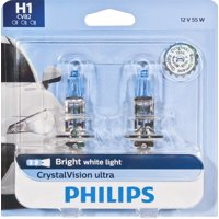 Philips Crystalvision Ultra Headlight H1, P14,5S, Glass, Always Change In Pairs!