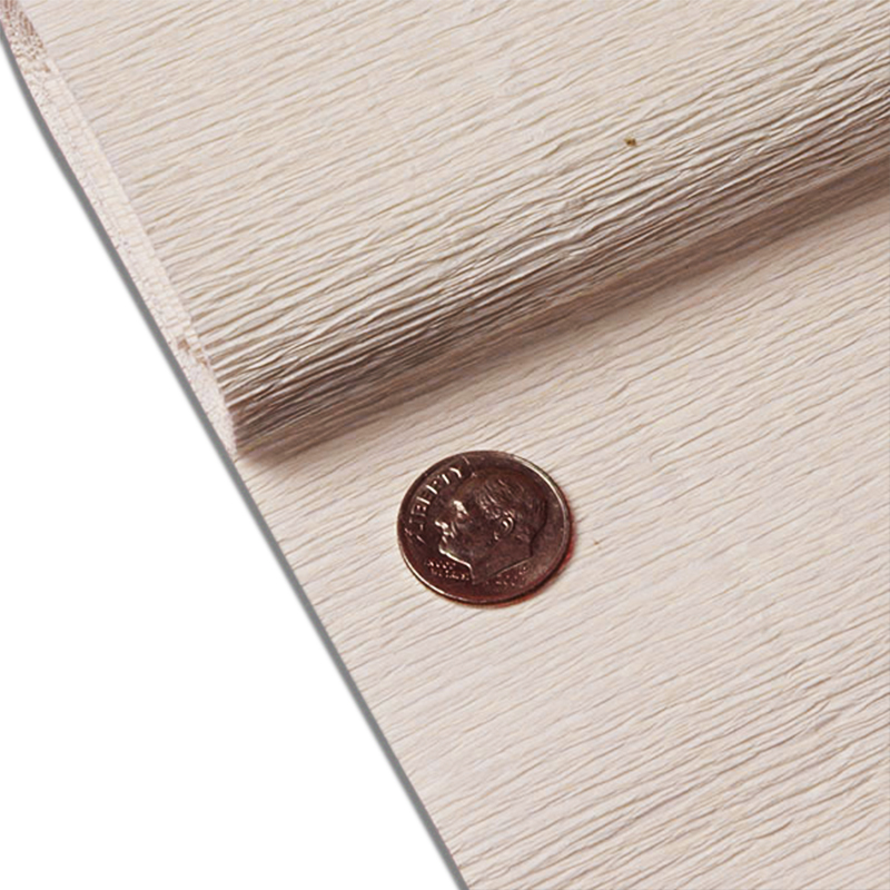 """Ivory Crepe Paper 19"""" X 3yd by Paper Mart"""
