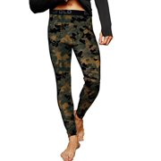Duofold by Champion Brushed Back Men's Pants (Prints) - Tawney Brown Faster Asteroid Camo - XL