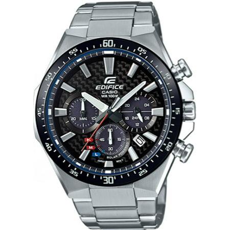 Men's Casio Edifice Solar Power Chronograph Watch EQS800CDB-1AV