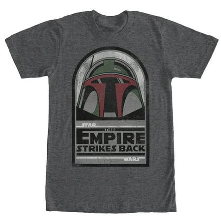 Star Wars Men's Boba Fett Strikes Back T-Shirt