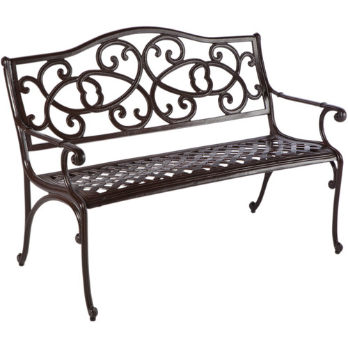 Darby Home Co Mackey Aluminum Garden Bench