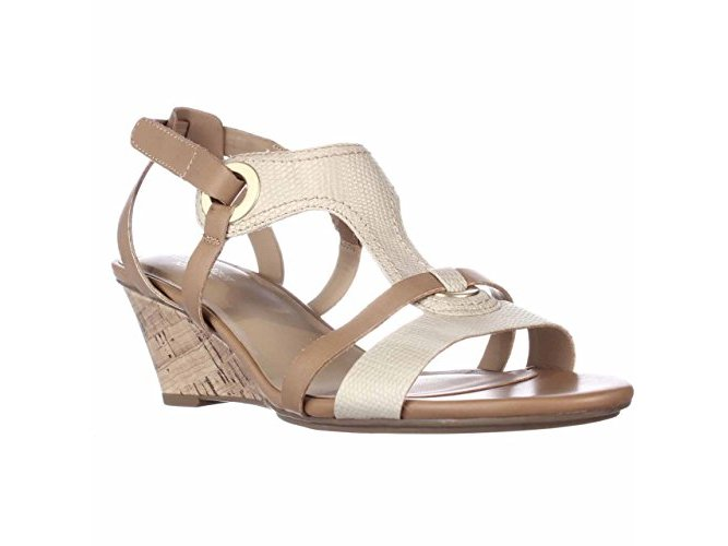 Naturalizer Womens heston Open Toe Casual Platform Sandals by Naturalizer