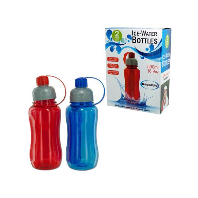 Bulk Buys OB963-6 Ice Water Bottle Set