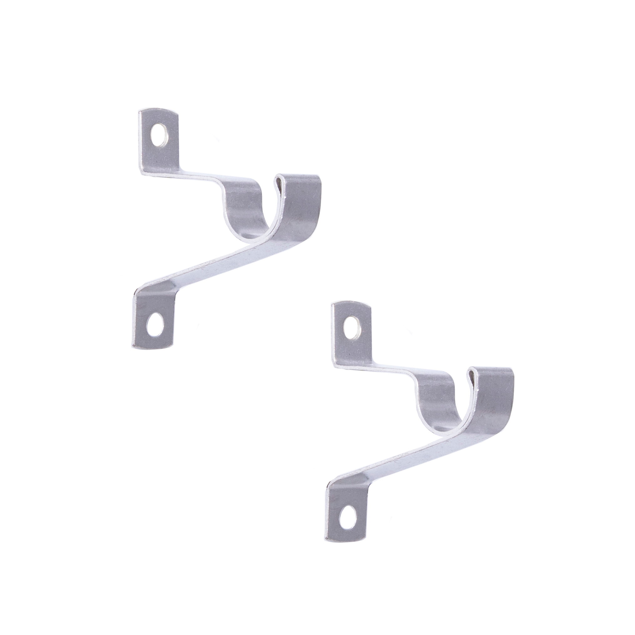 16 Cafe Curtain Rod Brackets Set