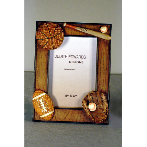 Judith Edwards Designs Sport Picture Frame