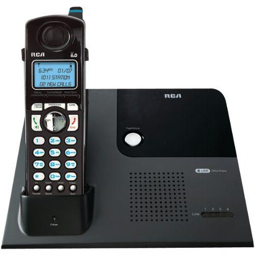 RCA 25420 4-LINE EXPANDABLE CORDLESS PHONE WITH CALLER ID