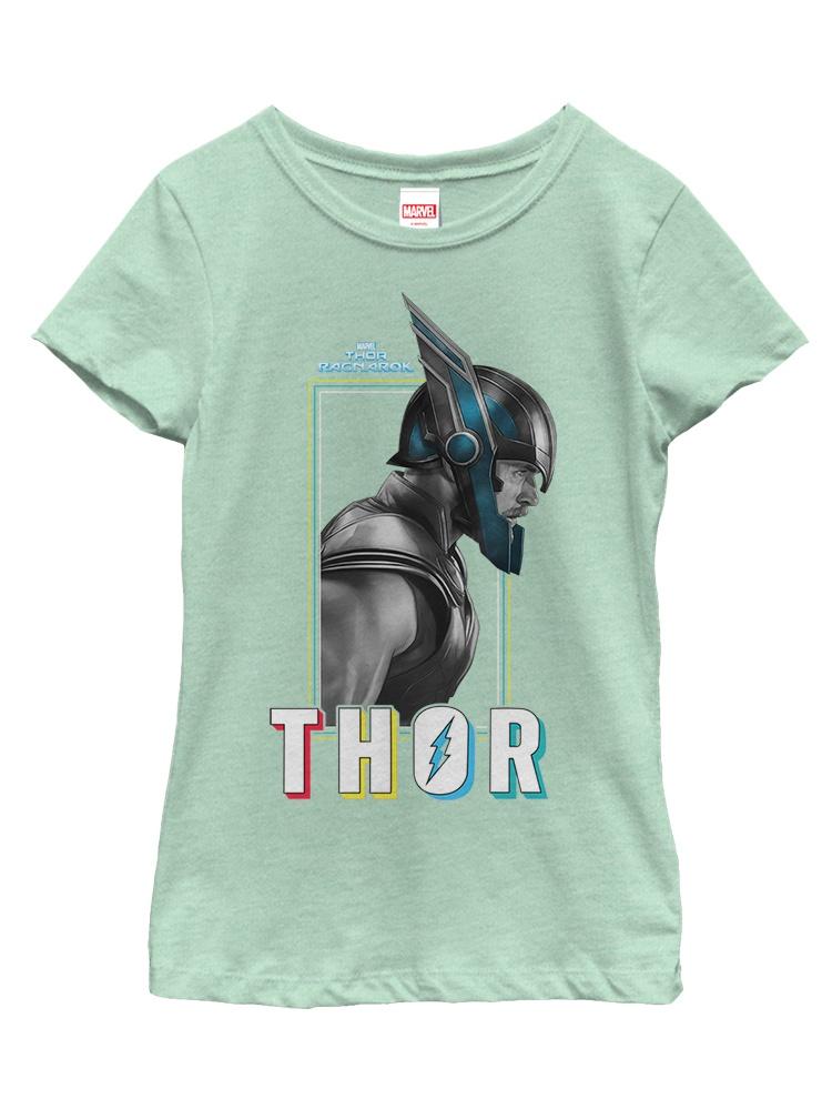 Marvel Girls' Thor: Ragnarok Profile T-Shirt