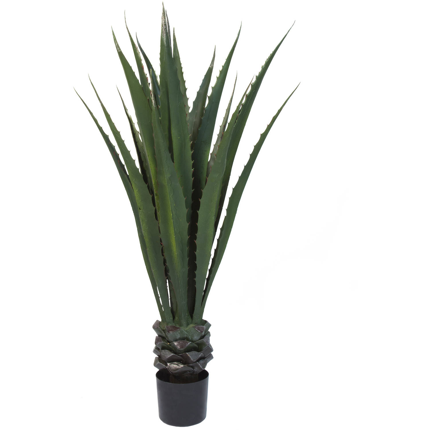 "Pure Garden 52"" Giant Agave Floor Plant, Green"