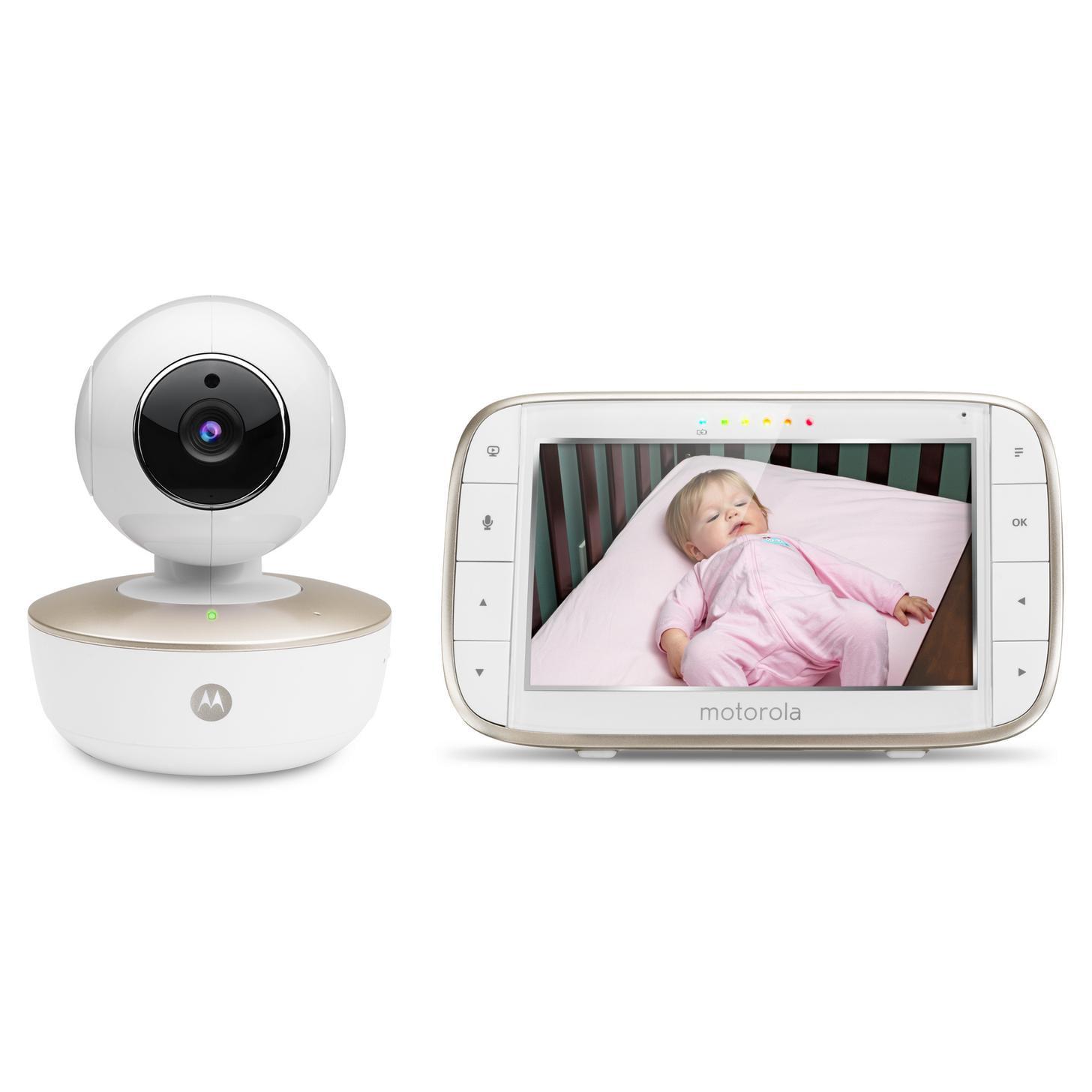 "Motorola MBP855 Connect, Wi-Fi Video Baby Monitor, Portable 5"" Monitor by Motorola"