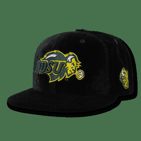 Louisiana State University Baseball (NCAA NDSU North Dakota State Bison University Velvet Snapback Baseball Caps Hats)