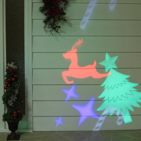 Outdoor Led Christmas Light Projector With Remote Control Walmart