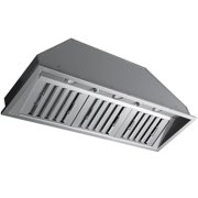 Ancona Pro 46 in. 600 CFM Ducted Insert Range Hood in Stainless Steel