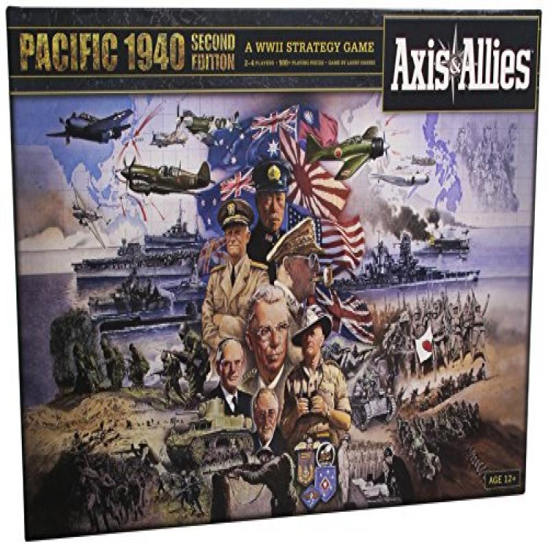 Wizards Of The Coast Axis and Allies Pacific 1940 2nd Edi...