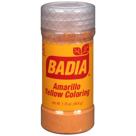 Badia Coloring, Yellow, 1.75 Oz - Walmart.com